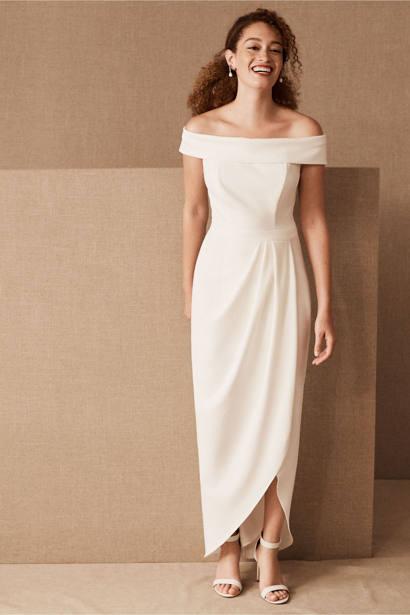 25 Courthouse Wedding Dresses For Your Civil Ceremony Weddingwire,Maxi Dress For Summer Wedding