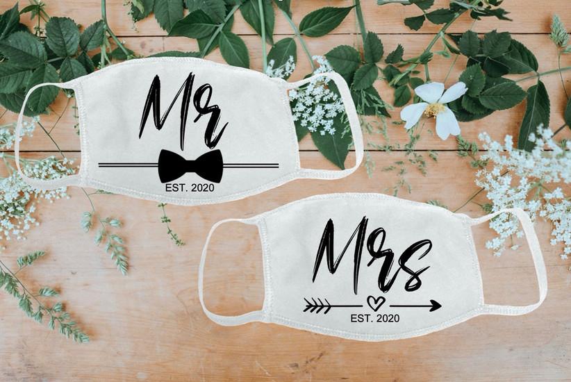 mr and mrs masks