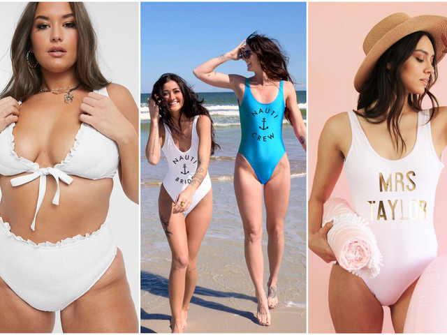 24 Cute Bachelorette Party Swimsuits for Everyone in Your Crew
