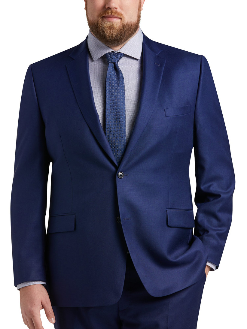 Executive Fit three-piece navy suit