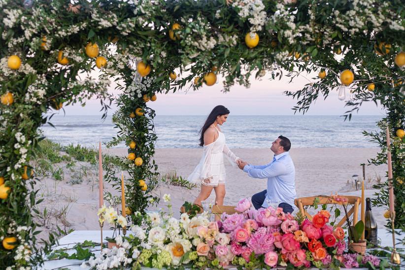 private beach proposal