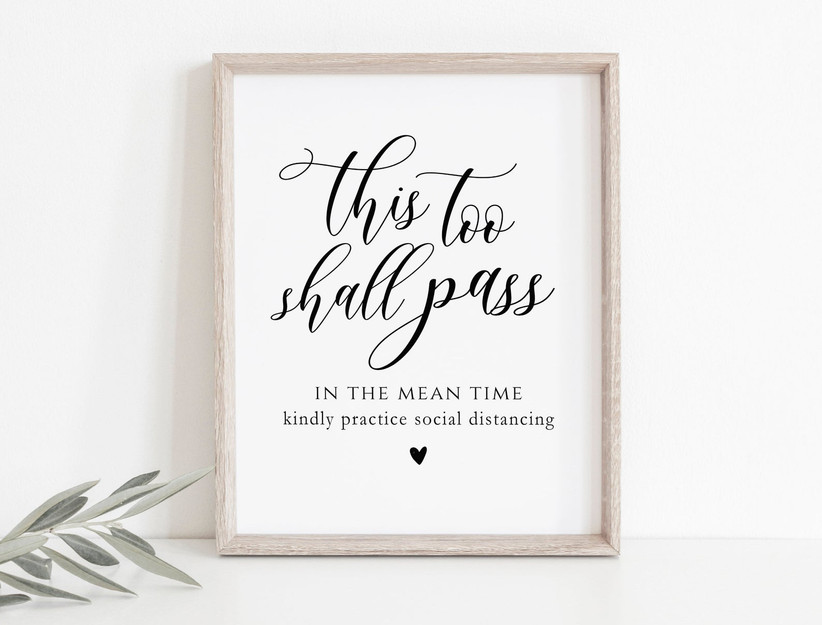this too shall pass sign