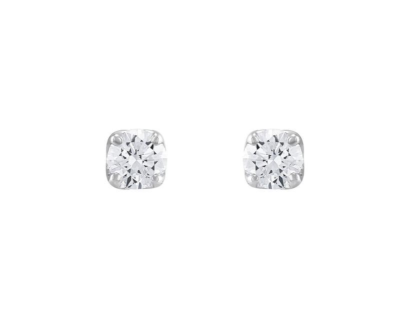 Diamond stud earrings 60th anniversary gift