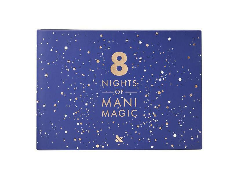 8 Nights of Hanukkah nail polish calendar