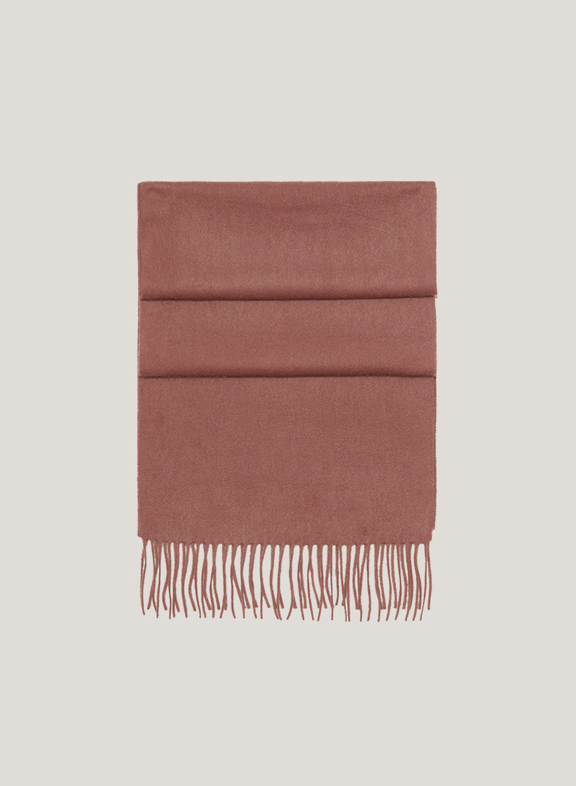 Dusty pink cashmere scarf stepmom gift