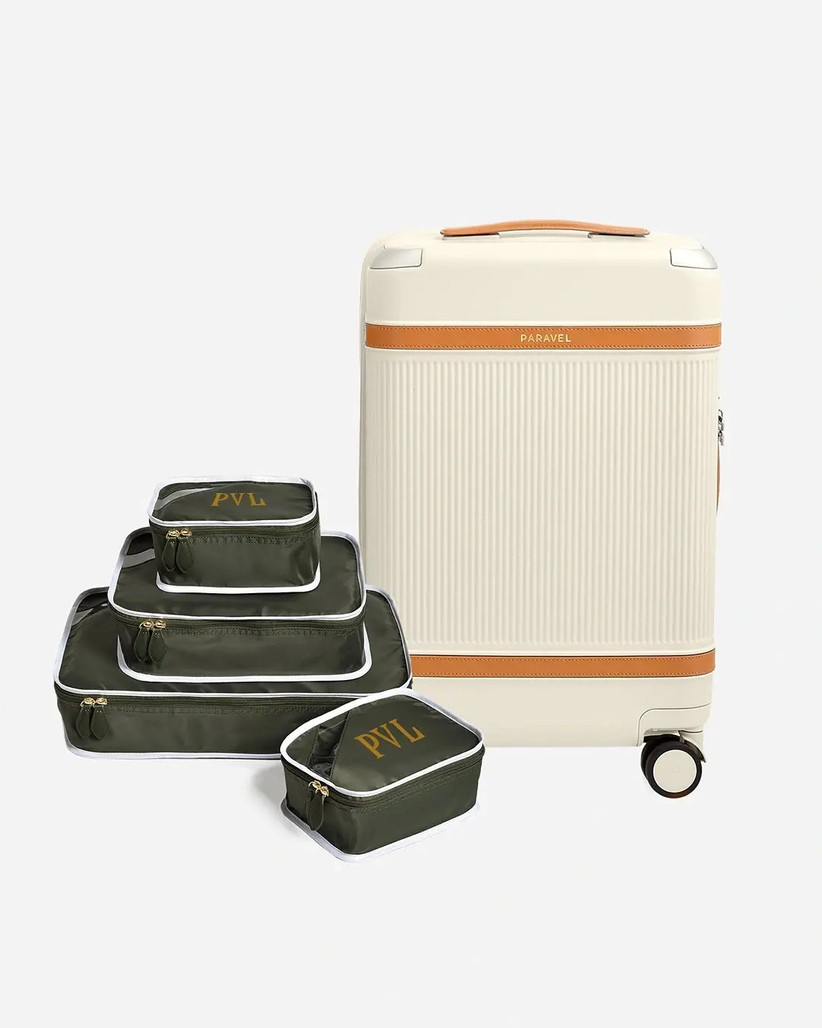 10 year anniversary gift paravel luggage set with packing cubes