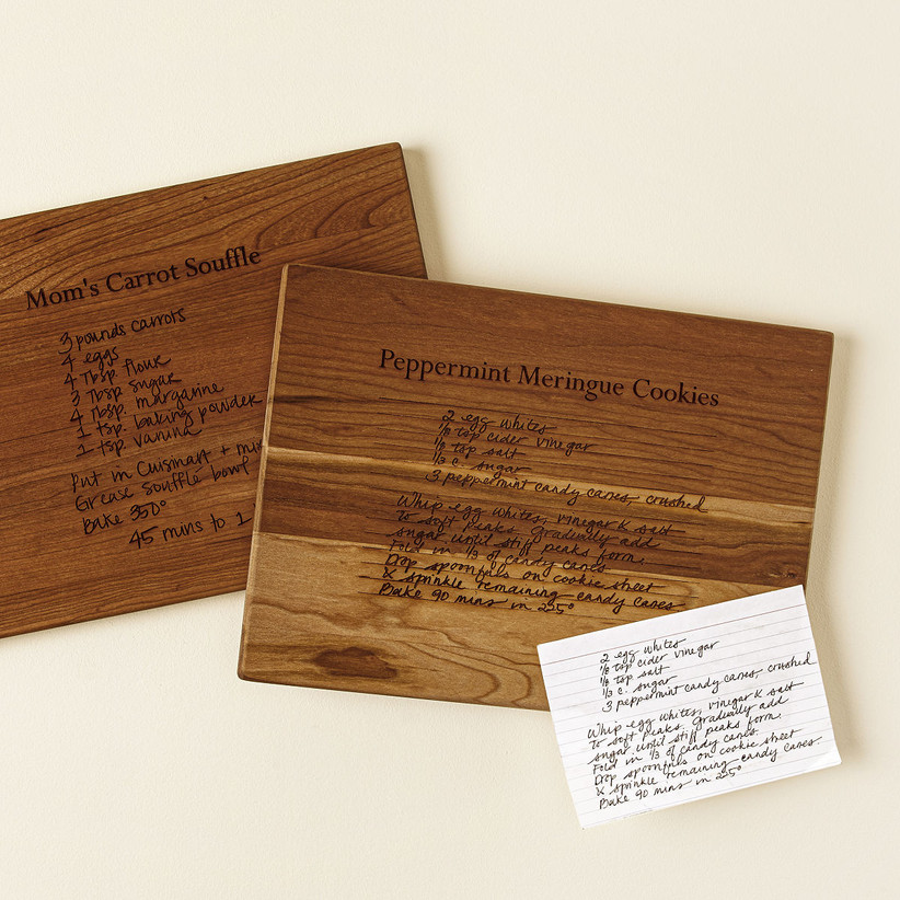 Engraved wooden board gift for sister-in-law