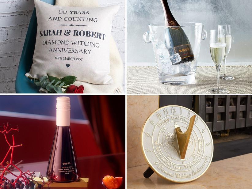 60th anniversary gift ideas