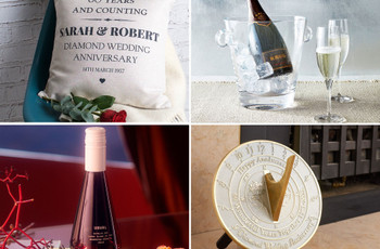 Celebrate the Diamond Anniversary With These Shining 60th Anniversary Gifts