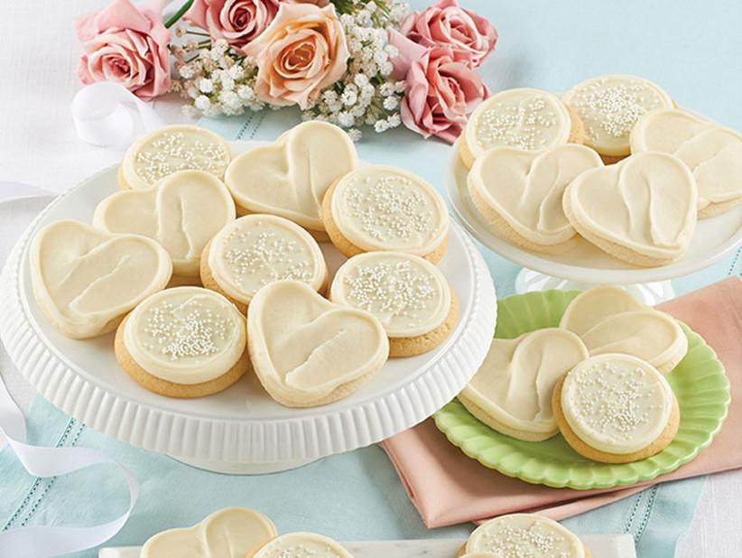 Wedding celebration cookies