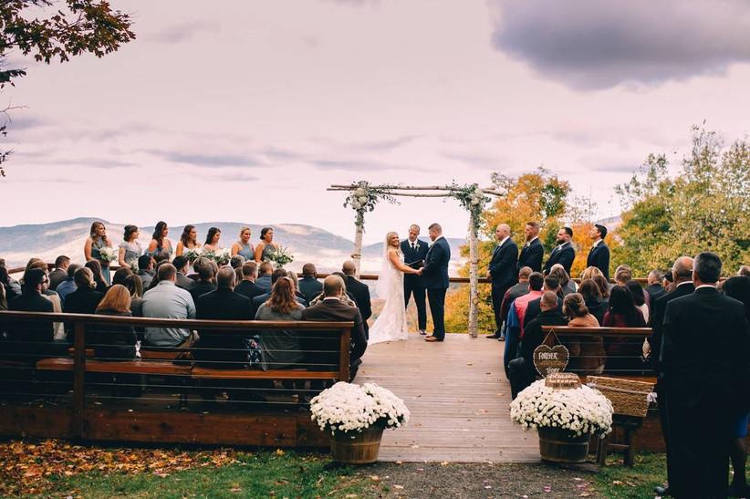 windham mountain wedding