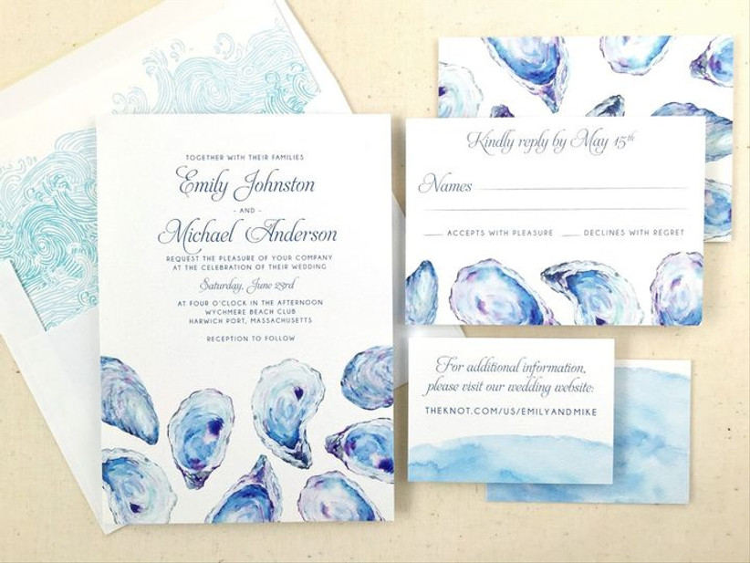 wedding invitation trends 2021 aqua