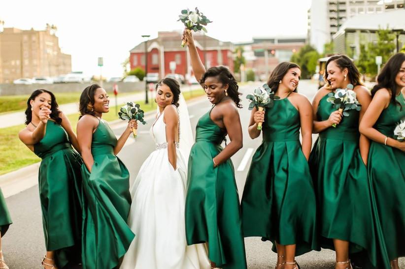 29 Flattering Bridesmaid Dress Colors Combinations Weddingwire