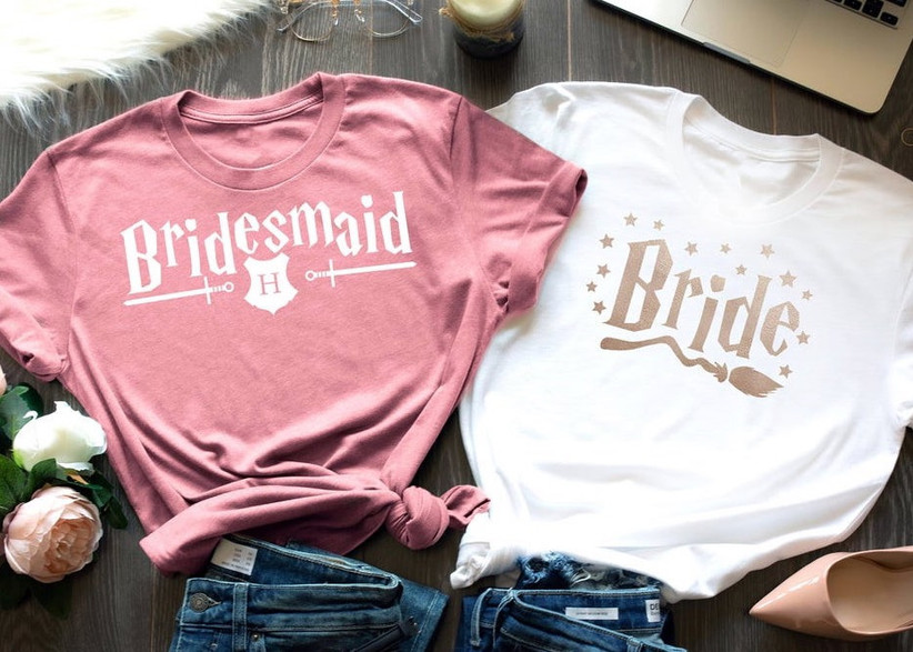harry potter bachelorette party t-shirts that say