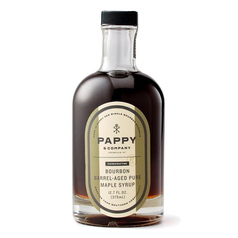bourbon-infused maple syrup groomsmen gift idea