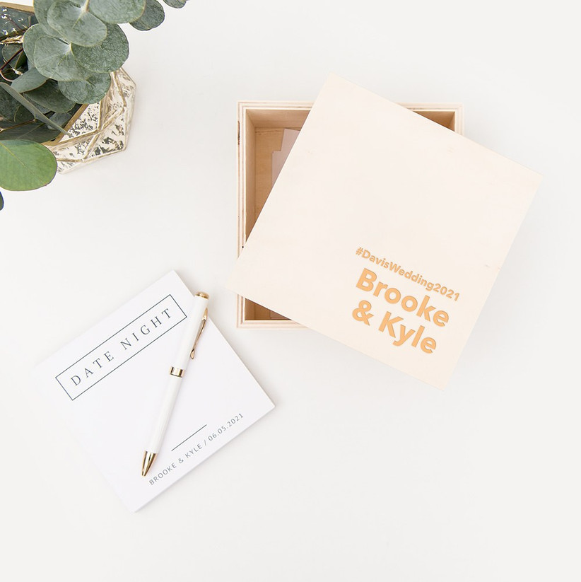 custom stationery for couple