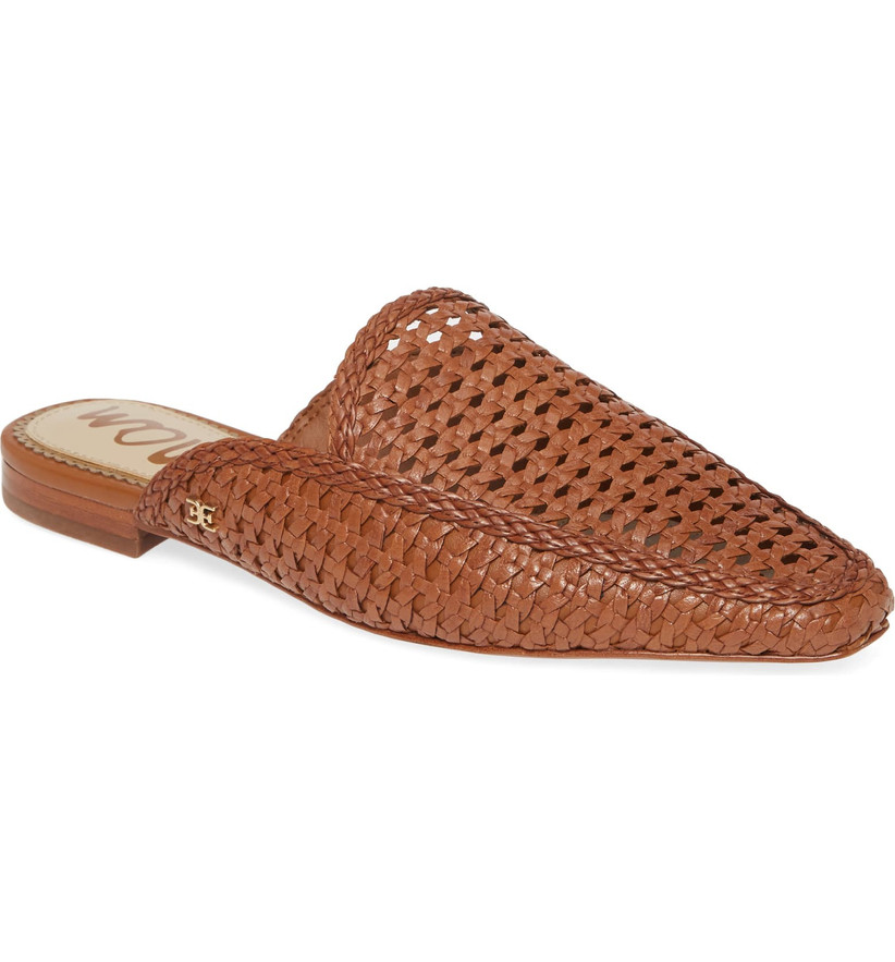 Wedding Guest Shoes woven mules