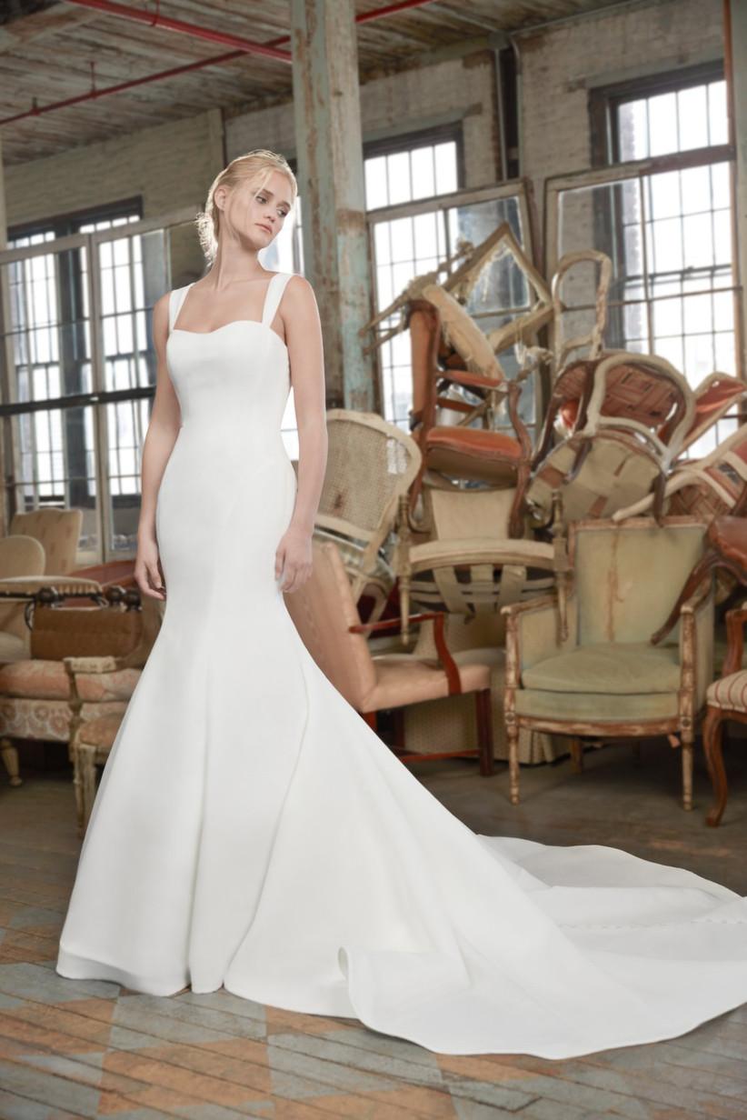 8 Wedding Dress Fabrics Every Bride Should Be Familiar With Weddingwire,Semi Formal High Low Dresses Wedding Guest