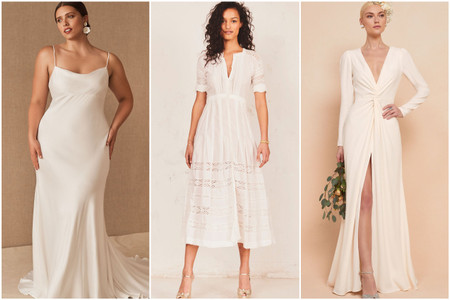 35 Courthouse Wedding Dresses for Your Civil Ceremony