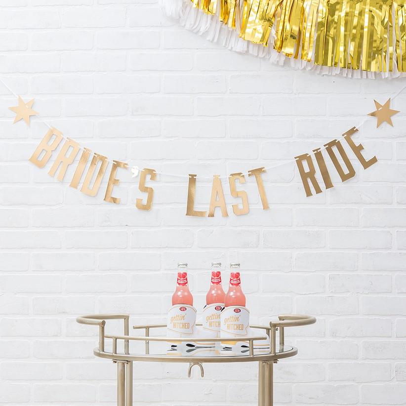 Gold Bride's Last Ride banner