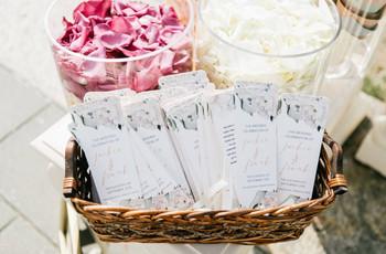 15 Wedding Program Ideas to Outline All the Ceremony Details