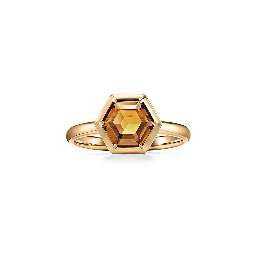 tiffany citrine and gold ring for 13th year wedding anniversary gift