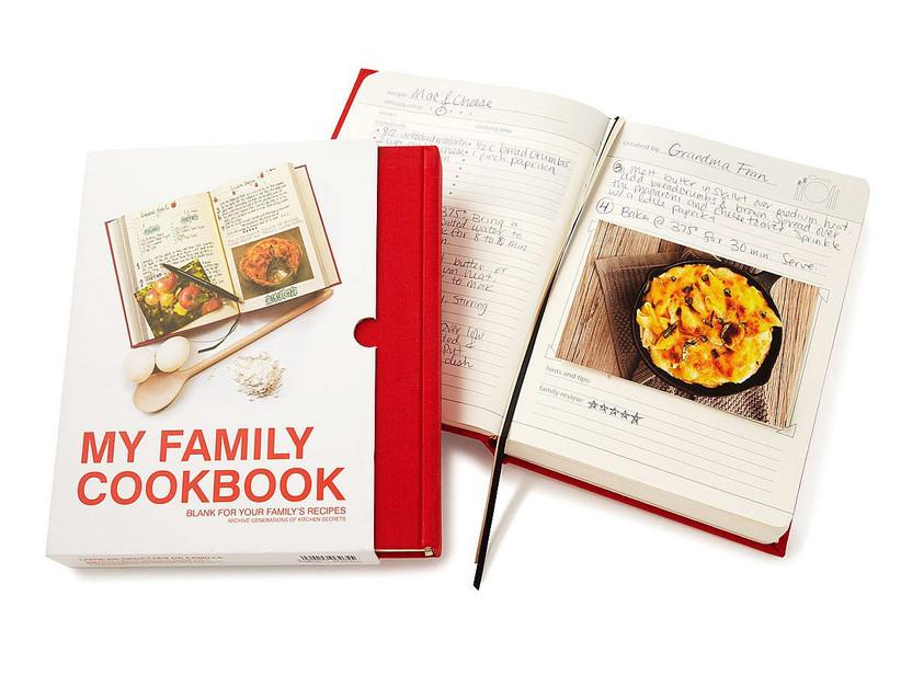 My Family Cookbook blank recipe heirloom book