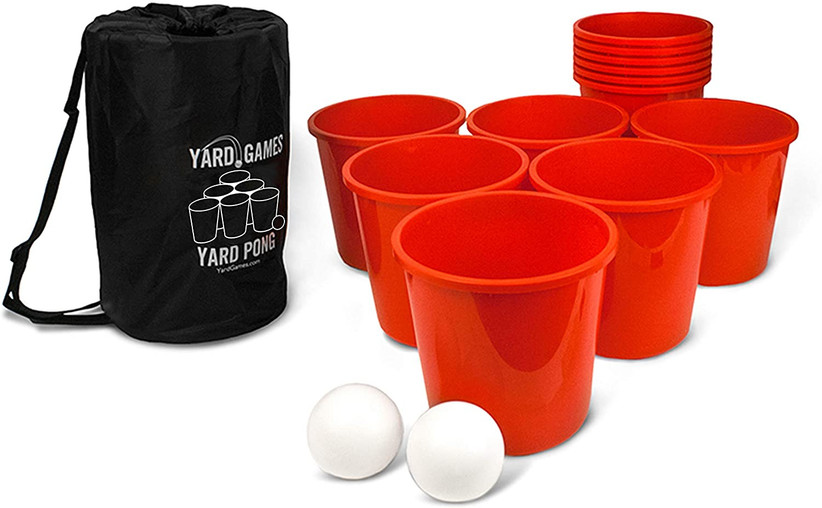 giant yard pong set