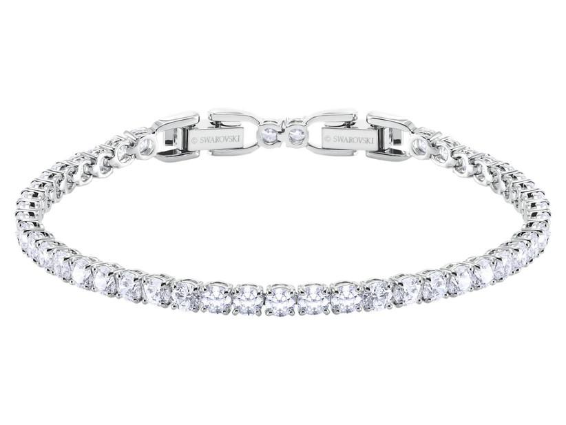 Swarovski crystal tennis bracelet mother of the groom gift