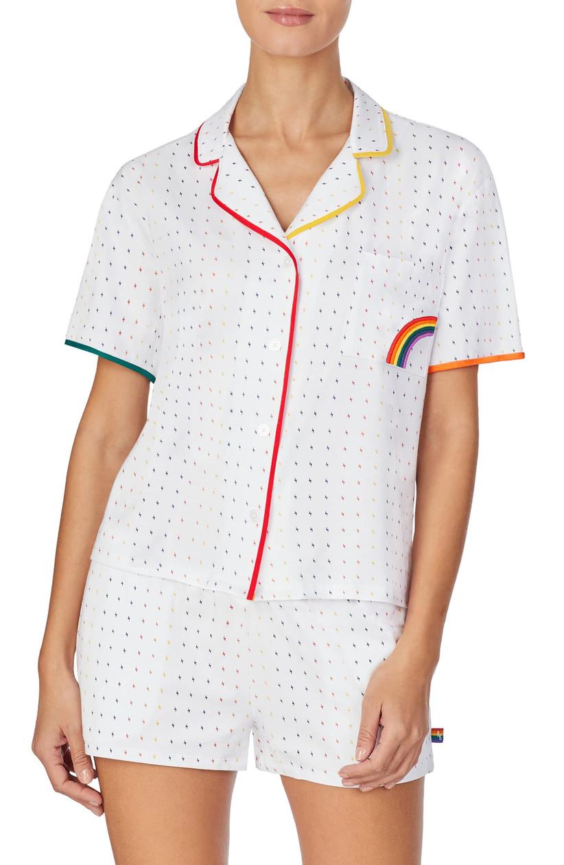 rainbow pajama set