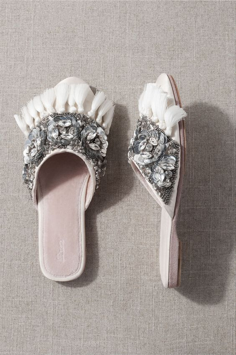 28 Comfortable Wedding Shoes That Are Flats Wedges Low Heels