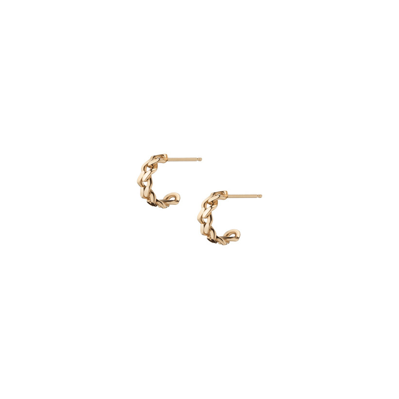aurate knotted gold earrings for 14th year wedding anniversary gift