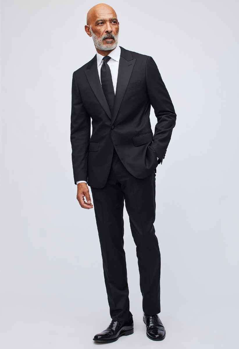 Black tie summer wedding tuxedo classic style for all conditions