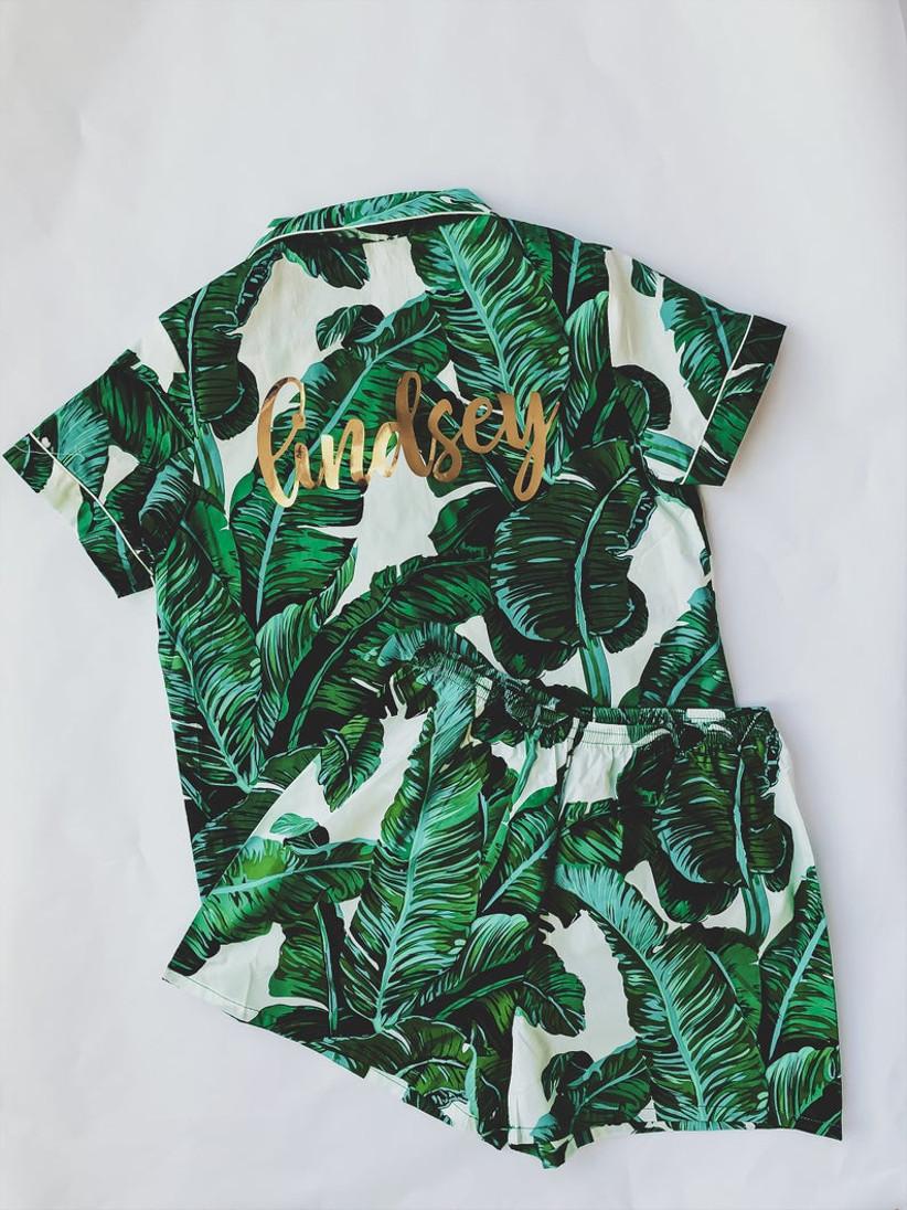 palm print pjs