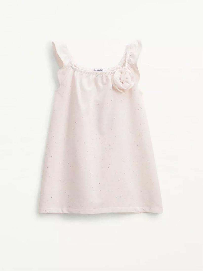 rosette toddler short dress