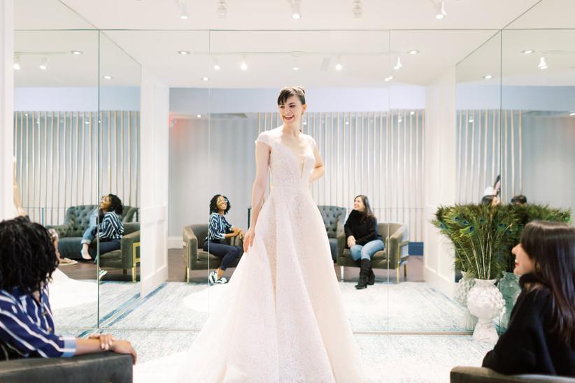 bride dress shopping