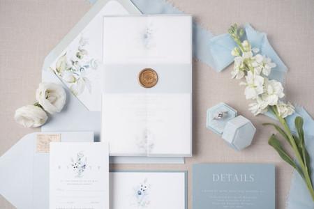26 Pretty Spring Wedding Invitations to Add to Your Stationery Wishlist