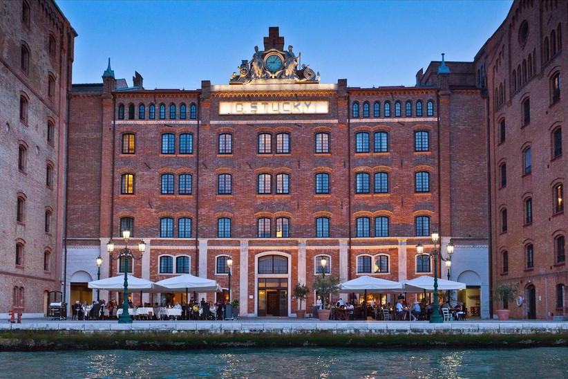 historic venice italy wedding venue waterfront hotel