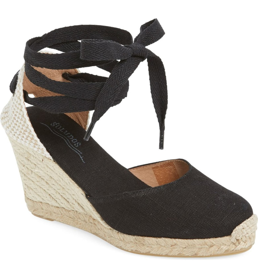 Wedding Guest Shoes espadrille wedge