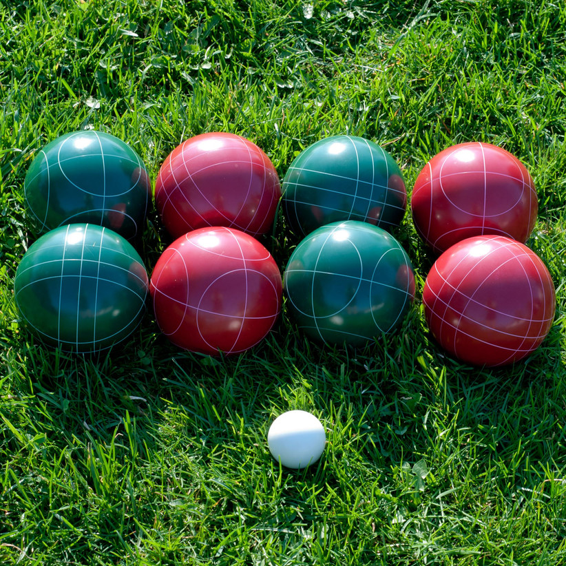 Bocce ball set housewarming gift for couples