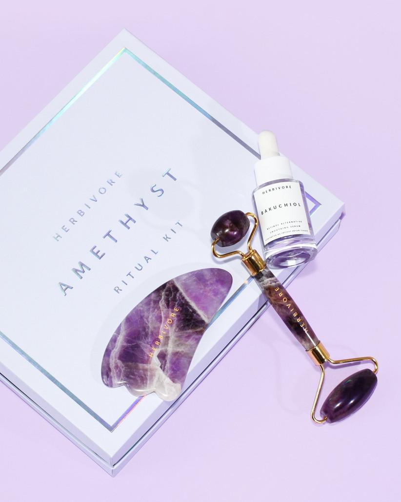 amethyst beauty set