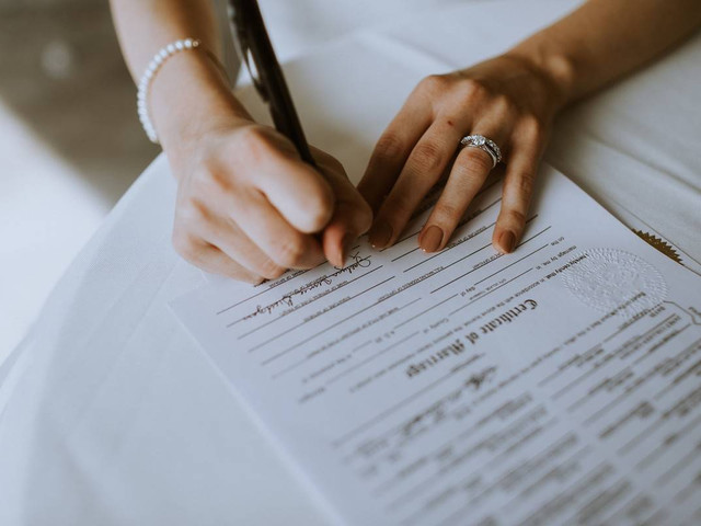 How to Get a Copy of Your Marriage Certificate