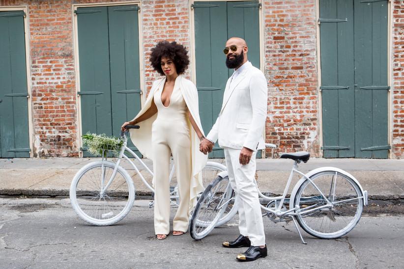 Solange Knowles's wedding jumpsuit