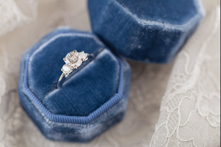 19 Three-Stone Engagement Rings for Triple the Sparkle