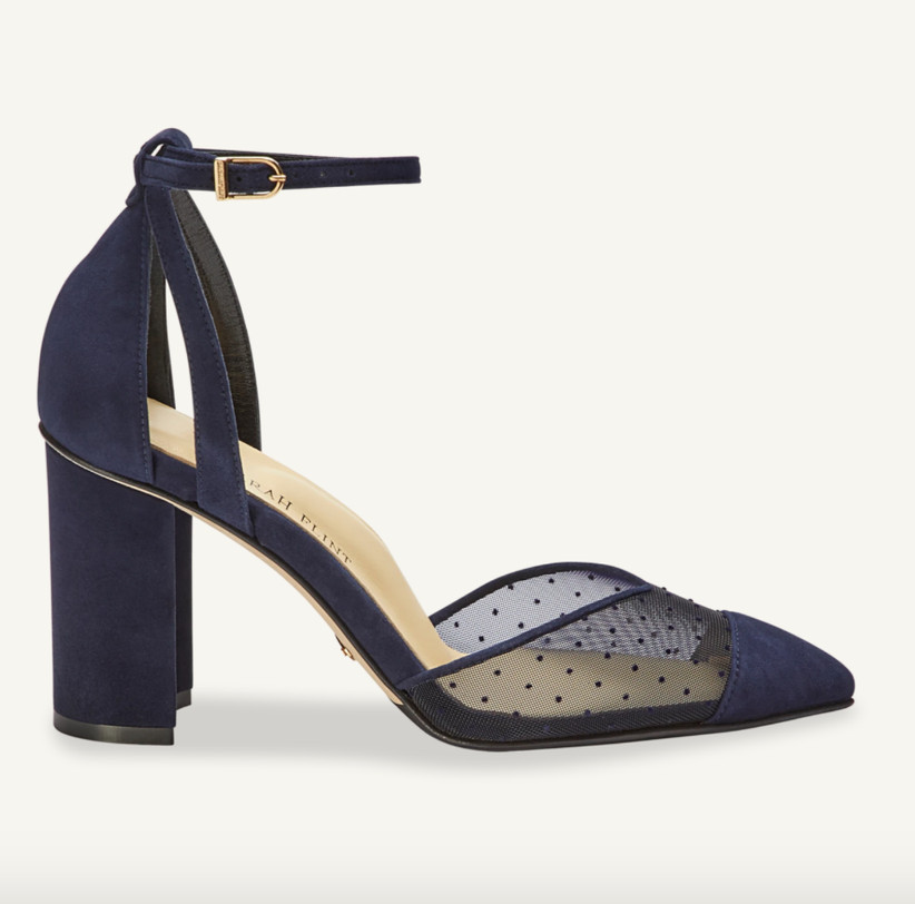 Wedding Guest Shoes pump with mesh detail
