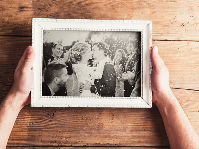 29 Wedding Picture Frames for Every Style