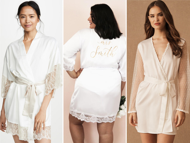 The 33 Best Bridal Robes for People Who Appreciate Style and Comfort