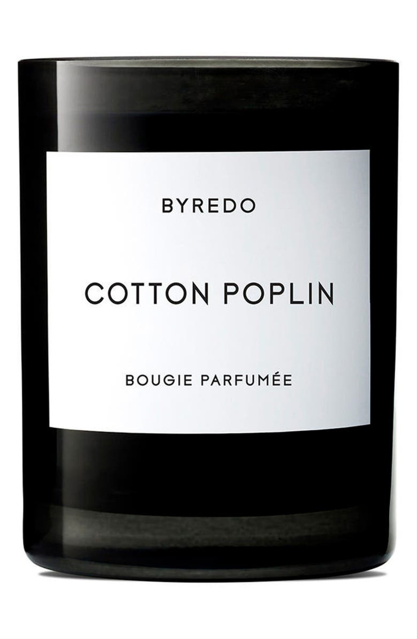 byredo cotton scented candle