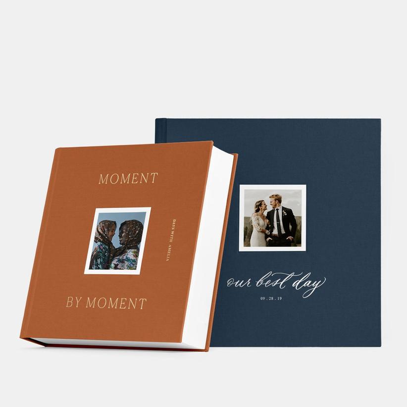 Beautiful layflat photo albums 45th anniversary gift idea