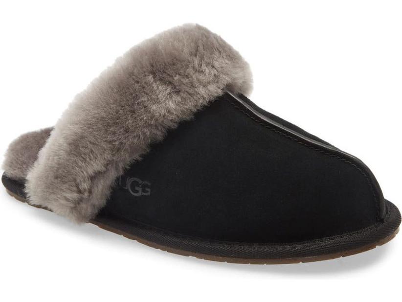 Black slipper gift for sister-in-law